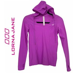 Lorna Jane Catalina Hooded Excel Long Sleeve